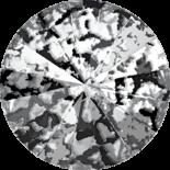 Crystal Black Patina F 12mm