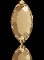 Crystal Golden Shadow F 4x2mm