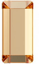 Crystal Golden Shadow F 3.7x1.9mm