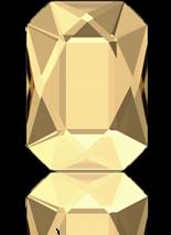 Crystal Golden Shadow F 14x10mm