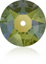Crystal Iridescent Green F 3mm