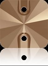 Crystal Rose Gold 14mm
