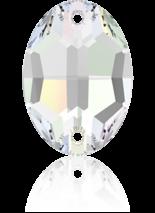 Crystal AB F 24x17mm
