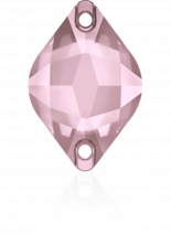 Crystal Antique Pink F 14x9mm