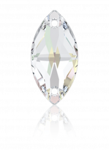 Crystal AB F 12x6mm