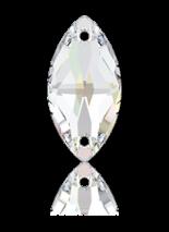 Crystal AB F 29x14.5mm