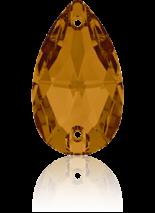 Crystal Copper F 28x17mm