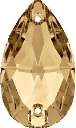Crystal Golden Shadow 18x10.5mm