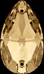 Crystal Golden Shadow 28x17mm