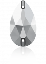 Crystal Light Chrome F 12x7mm
