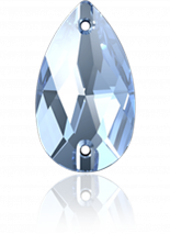 Light Sapphire F 18x10.5mm