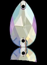 Light Sapphire Shimmer F 28x17mm