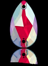 Light Siam Shimmer F 18x10.5mm