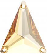 Crystal Golden Shadow F 25x28.7mm
