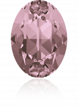 Crystal Antique Pink F 8x6mm