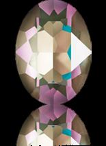 Crystal Army Green DeLite 14x10mm