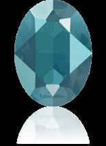 Crystal Azure Blue 14x10mm