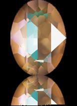 Crystal Cappuccino DeLite 18x13mm