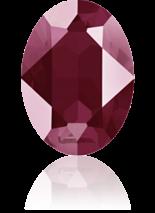 Crystal Dark Red 18x13mm
