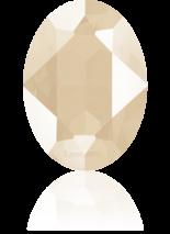 Crystal Ivory Cream 14x10mm