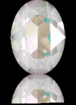 Crystal Light Grey DeLite 18x13mm