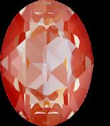 Crystal Orange Glow DeLite 14x10mm