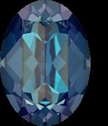 Crystal Royal Blue DeLite 14x10mm