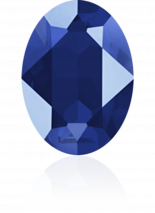 Crystal Royal Blue 18x13mm