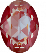 Crystal Royal Red DeLite 14x10mm