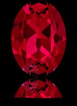 Scarlet F 25x18mm