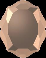 Crystal Rose Gold F 14x11mm