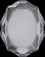 Crystal Silver Night 14x11mm