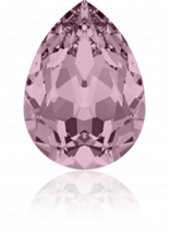 Crystal Antique Pink F 14x10mm