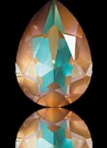 Crystal Cappuccino Delite 14x10mm