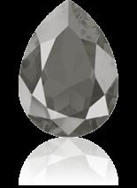 Crystal Dark Grey 14x10mm