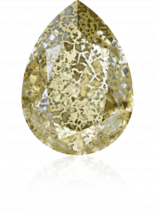 Crystal Gold Patina F 18x13mm