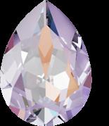 Crystal Lavender Delite 14x10mm