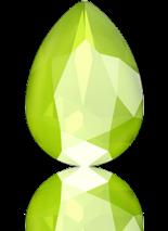 Crystal Lime 14x10mm
