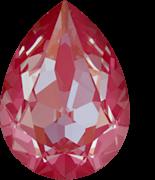 Crystal Lotus Pink Delite 18x13mm