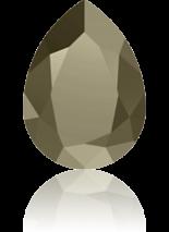 Crystal Metallic Light Gold F 18x13mm