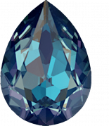 Crystal Royal Blue Delite 18x13mm