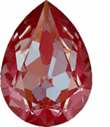 Crystal Royal Red Delite 18x13mm