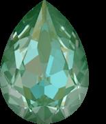 Crystal Silky Sage Delite 14x10mm