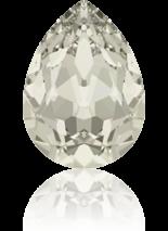 Crystal Silver shade F 18x13mm