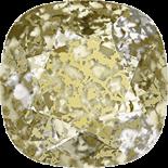 Crystal Gold Patina F 10mm