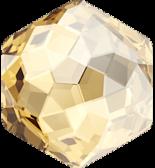 Crystal Golden Shadow F 14x15.8mm