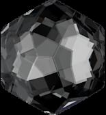 Crystal Silver Night 10x11.2mm