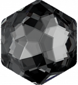 Crystal Silver Night 12x13.5mm
