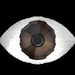 Dark Brown F 18x10.5mm