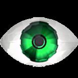 Green F 18x10.5mm